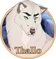 Thallo Medallion by Lachtaube