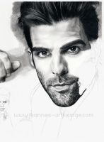 Zachary Quinto - WIP 05 by Jeanne-Lui