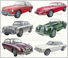 Classic Cars by MATArt