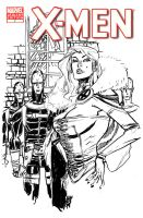 X-MEN COVER - WHITE QUEEN by EricCanete