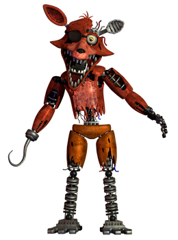 Withered Foxy Remastered by a1234agameer