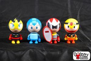 Mega Man Bobble Budds On Sale Now by BobbleBudds