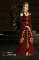 Cersei of House Lannister v2 by DaenatheDefiant