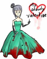 stupid doodle  my bloody valentine by chinduda