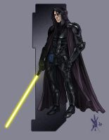 Jedi Sentinel by thedarkestseason
