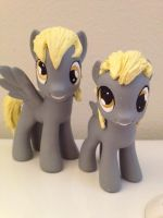 MLPFIM Filly Derpy custom toy WIP by omgwtflols
