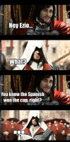 U mad Ezio? by PencilLover