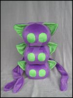 Purple-Green Furballz of DOOM by A-chan--Creations