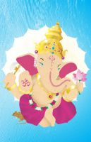 Lord Ganesha by wingless730
