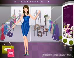 ONE SHOULDER TREND DRESS UP GAMES by willbeyou
