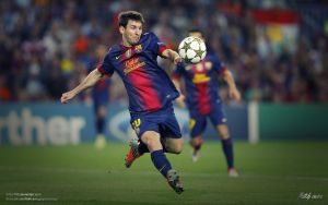 Lionel Messi by drifter765