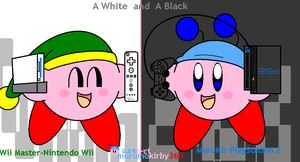 A White and A Black by murumokirby360