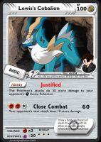 Lewis's Cobalion by dburch01