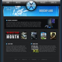 Games Website by pixelbudah