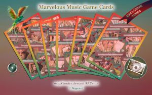 Game Cards Marvelous Music II by magXlander
