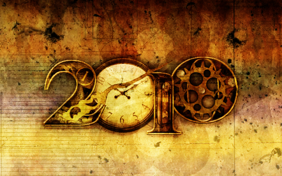 2010 Clockwork Typography by Candido1225