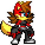 Fiona the Fox Pixelated by Tails-the-exe
