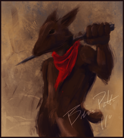 Rabbit Painting by ChaserTech