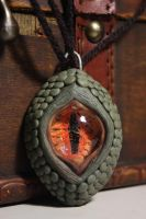 Dragon eye necklace/pendant by AntonioBalicevic