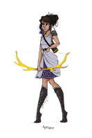 Greek Goddess: Artemis by JadeAriel
