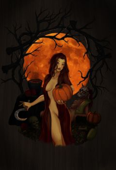 Blessed Samhain by MoonstruckEye