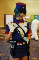 Officer Jenny at Katsucon 19 by six6impossiblethings