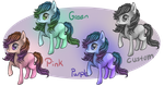 Basic MLP Filly Adoptable Batch 1 by Secrecies