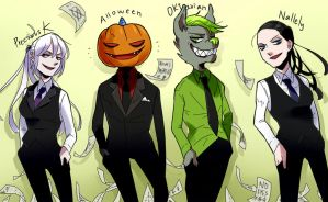 suits up! by Alloween