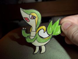 Snivy Paperchild by koala823