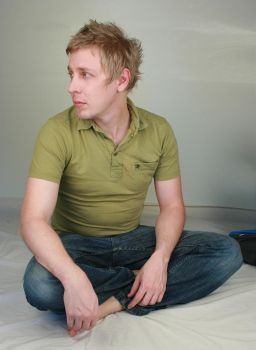 Aaron Sitting I by IQuitCountingStock