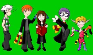 Furuba Cosplays Harry Potter by 7PhoenixAshes