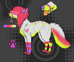 Scenedog Adoptable 1 (Name Your Price!) [CLOSED] by Xecax