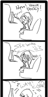 MSN Doodle comic with pocky by DarkHalo4321