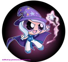 The Great and Powerpuff Trixie by YokoKinawa