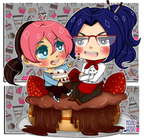 Andy y Kou - Eat this  by Hishousophy