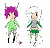 Jinni (closed species) offer adopts (closed) by Iloveyaoi4ever