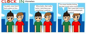 Homeless by clockincomics