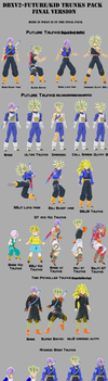 DBXV2-Future/Kid/Teen Trunks pack by RisingFlame12