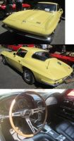 66 Corvette Stingray by zypherion