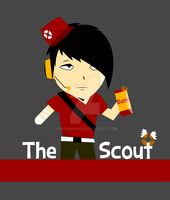 TF2 Asian Scout by Yoshhhhi