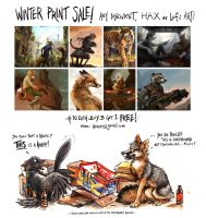 WINTER PRINT SALE -- last day!! by kenket