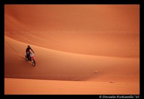 Desert Biking IV by TVD-Photography
