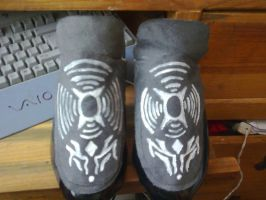 dark elf shoes by xXx-Lilith-xXx