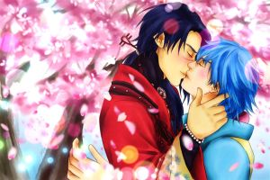 Koujaku x Aoba END by Mad-Hatter----X