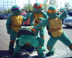 TMNT - group 1 by Shiroyuki9