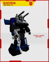 AUTOBOT BLUESTREAK by F-for-feasant-design