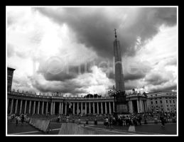 St. Peter's Square by lehPhotography