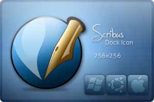 Scribus Icon by CyberSketch