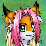 zoe head shot by Foxxie-Angel