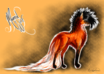 First Attempt at.... Maned Wolf! (SOLD!) by MischievousRaven